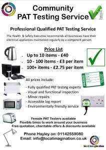 pat testing flyer