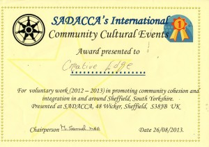 Sadacca International certificate